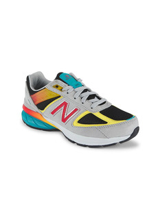 New Balance Little Boy's & Boy's 990v5 Suede Mix Media Low-Top Sneakers