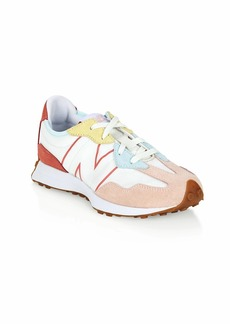 Little Girl's & Girl's New Balance 327 Suede Mix Media Low-Top Sneakers