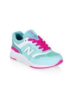 Little Girl's & Girl's New Balance 997H Low-Top Sneakers