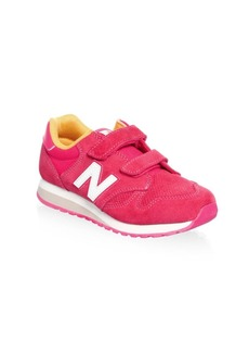 New Balance Little Girl's & Girl's Suede Sneakers