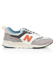 New Balance Logo Low-Top Sneakers