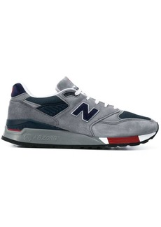 New Balance logo patch low top sneakers