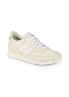 New Balance Logo Patch Low-Top Sneakers