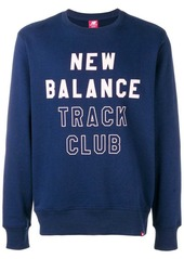 New Balance logo print sweatshirt
