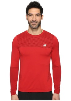 New Balance M4M Seamless Long Sleeve Top