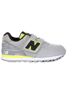 New Balance Mesh & Faux Leather Running Sneakers