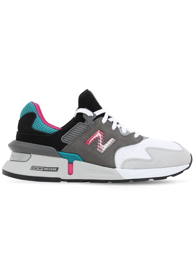New Balance Ms997 Suede & Mesh Sneakers