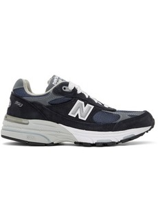 New Balance Navy & Grey US Made 993 Sneakers