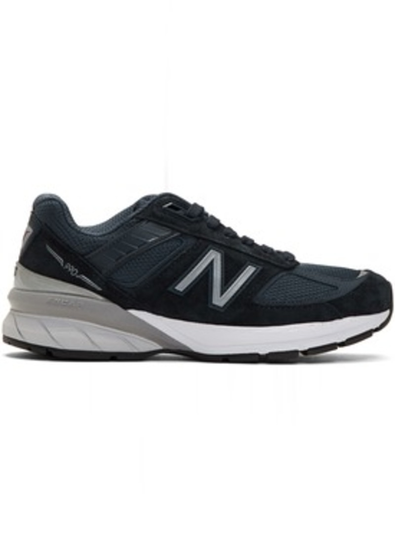 New Balance Navy US Made 990v5 Sneakers