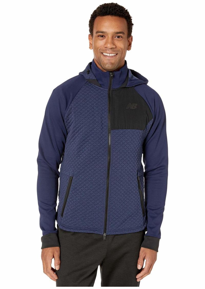 New Balance NB Heat Loft Full Zip Hooded Jacket