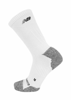 New Balance 1 Pack Run Foundation Cushioned Crew Socks