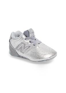 New Balance 574 Metallic Crib Sneaker (Baby)
