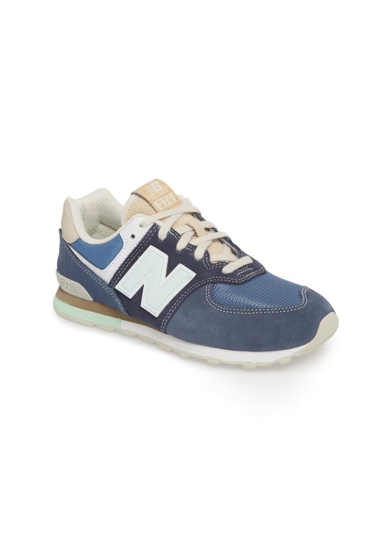 buy online 0f9e7 a0c8e New Balance New Balance 574 Retro Surf Sneaker (Big Kid) | Shoes