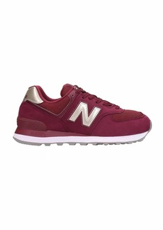 New Balance 574 Sneakers In Bordeaux Nubuck