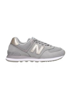 New Balance 574 Sneakers In Grey Nubuck
