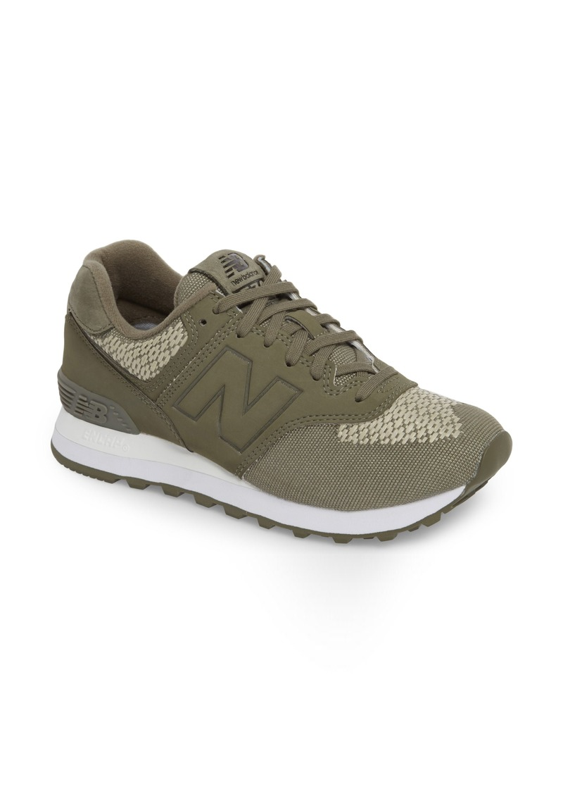 info for 31313 b2972 New Balance New Balance 574 Tech Raffia Sneaker (Women) | Shoes