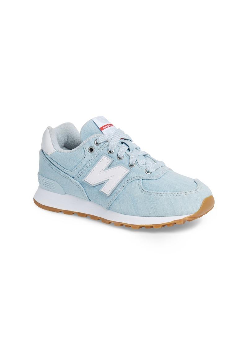 574v1 Sneaker (Big Kid)