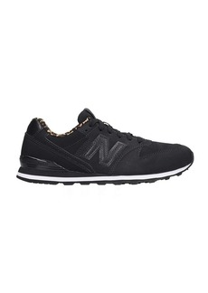 New Balance 996 Sneakers In Black Nubuck