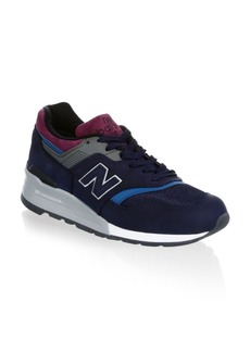 New Balance 997 Made in USA Suede Sneakers