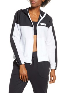 New Balance Athletics Colorblock Water Resistant Windbreaker