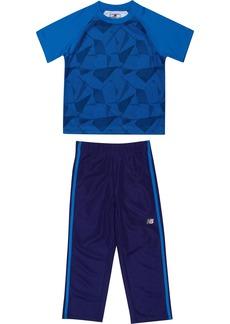 New Balance Baby Boys' Athletic Tee and Pant Set