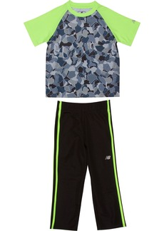 New Balance Baby Boys' Athletic Tee and Pant Set