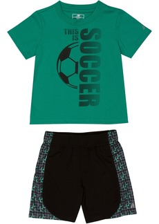 New Balance Baby Boys' Athletic Tee and Short Set