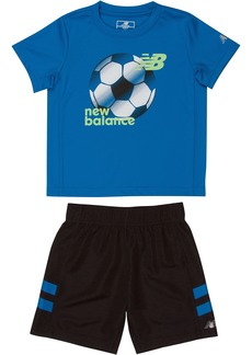 New Balance Baby Boys' Performance Tee and Short Set