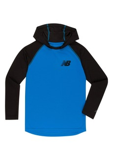 New Balance Big Boys' Athletic Hooded Pullover Top