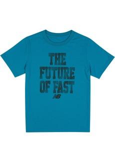 New Balance Big Boys' Short Sleeve Graphic T-Shirt