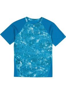 New Balance Big Boys' Short Sleeve Print Performance T-Shirt