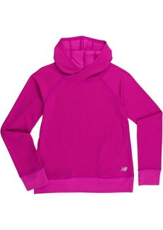 New Balance Big Girls' Athletic Pullover Top With Hood