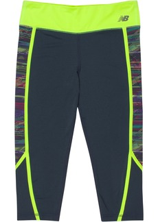 New Balance Big Girls' Performance Capris