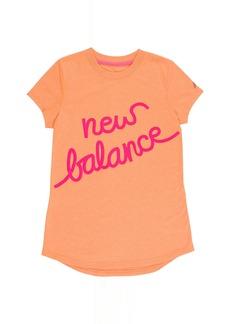 New Balance Big Girls' Short Sleeve Graphic Tee
