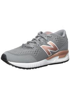 New Balance Boys' 005V1 Sneaker Grey/red