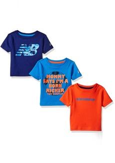 New Balance Baby Boys' 3 Pack Graphic Tee