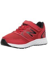 New Balance Boys' 455v1 Hook and Loop Running Shoe