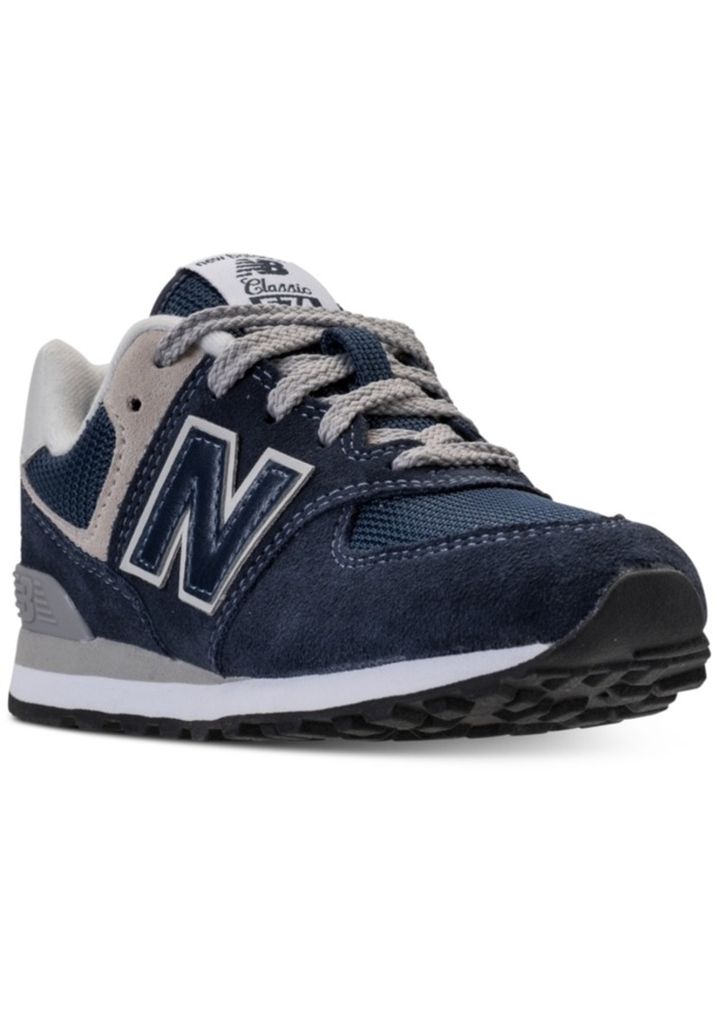 detailing 78f3b ae6df Boys' 574 Core Casual Sneakers from Finish Line