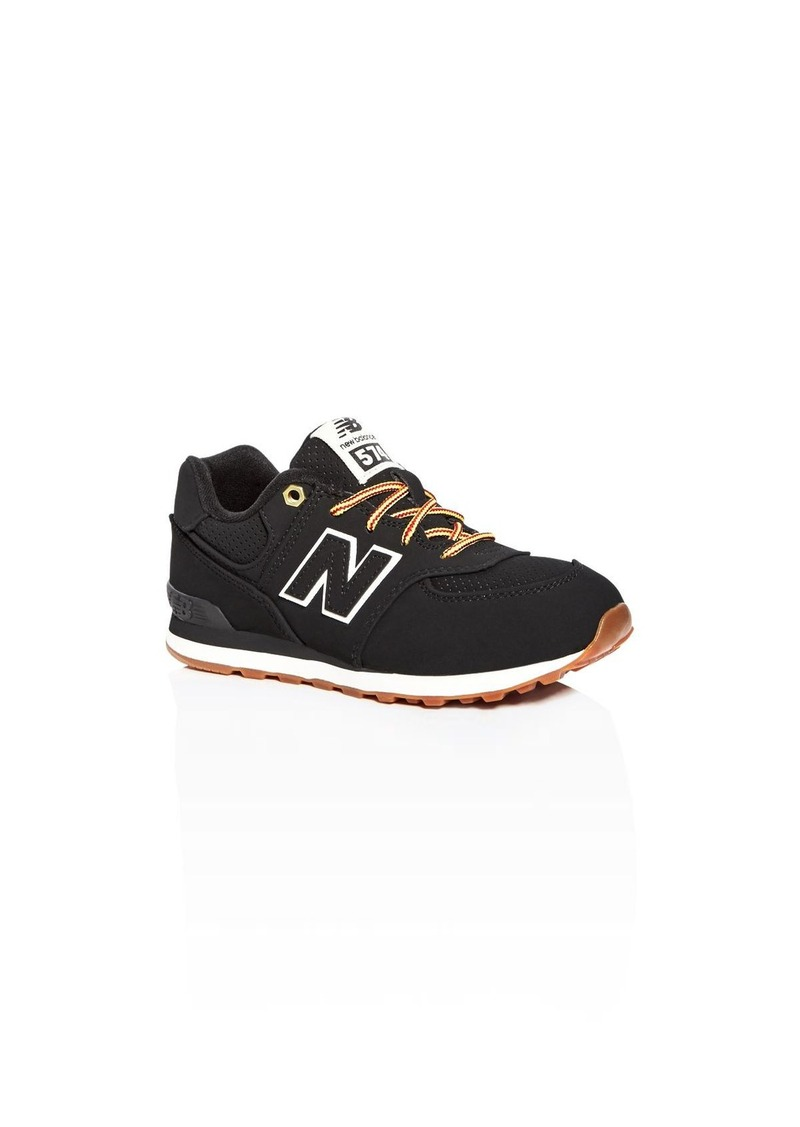 New Balance Boys' 574 Heritage Sport Lace Up Sneakers - Toddler, Little Kid