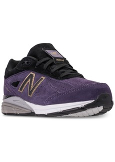New Balance Boys' 990 V4 Running Sneakers from Finish Line