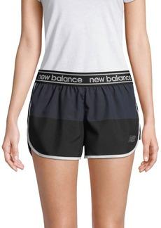 New Balance Colorblock Athletic Shorts