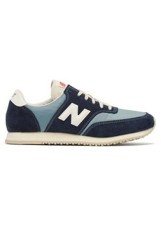 New Balance Comp 100 suede and nylon trainers