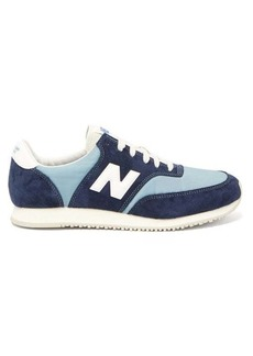 New Balance Comp 100 suede trainers