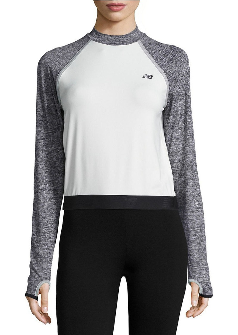 NEW BALANCE Cropped Athletic Top