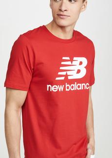 New Balance Essentials Stacked Logo Tee Shirt