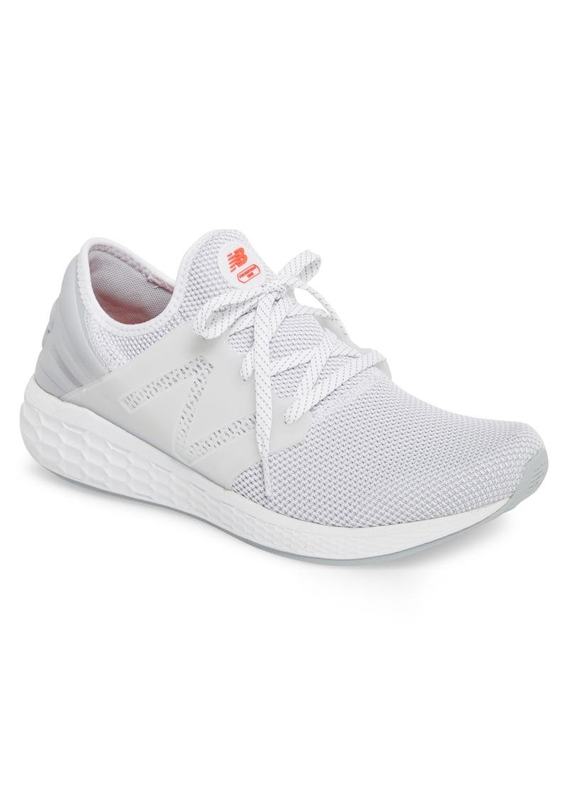 Mens New Balance Fresh Foam Cruz v2 Sport Sport Shoes White