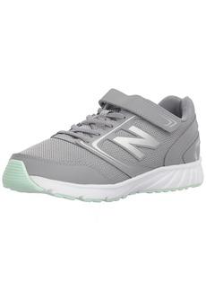 New Balance Girls' 455v1 Hook and Loop Running Shoe