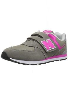New Balance Girls' 574v1 Essentials Hook and Loop Sneaker