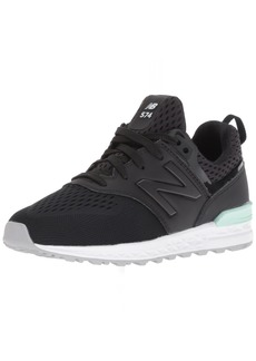 New Balance Girls' 574v1 Sport Sneaker