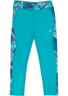 New Balance Girls' Little Fashion Performance Tight